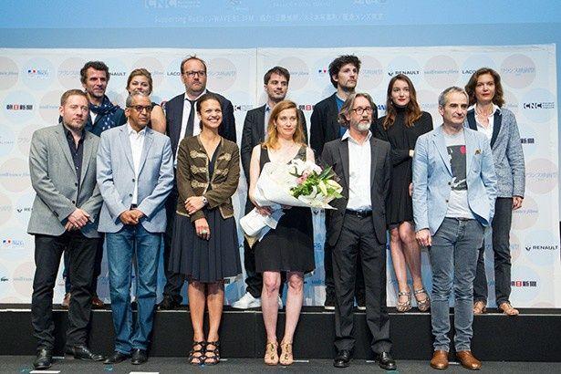 今年で24回目を迎えるフランス映画祭。新作上映はもちろんのこと監督や出演者が多数来日!(写真は昨年の様子)