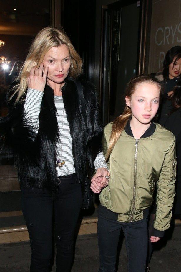 2015年4月のケイトとライラ