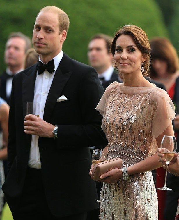 冗談が飛び出したチャリティ・イベントでのウィリアム王子とキャサリン妃