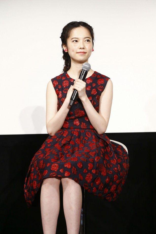 映画の公開直前イベントに登場したAKB48・島崎遥香