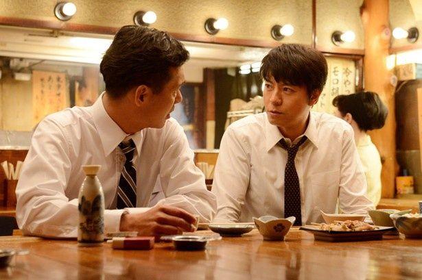 【写真を見る】上川隆也と渡部篤郎が、男たちの熱きドラマを体現!