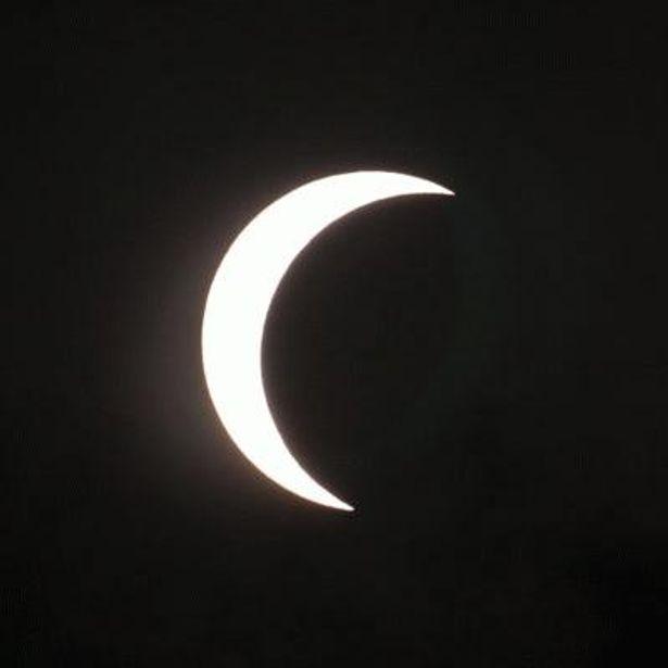 名古屋では約8割太陽が欠ける部分日食が見られる