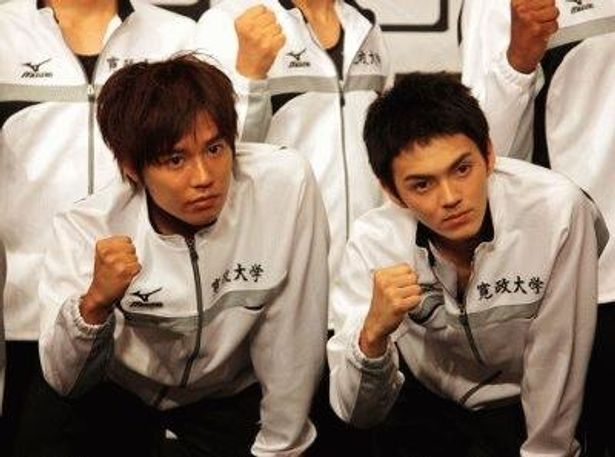 小出恵介(左)と林遣都のW主演で贈る青春駅伝映画