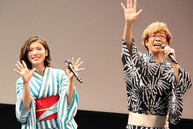 「ポケモン映画」ゲスト声優の山寺宏一と松岡茉優が久々に「おーはー!」