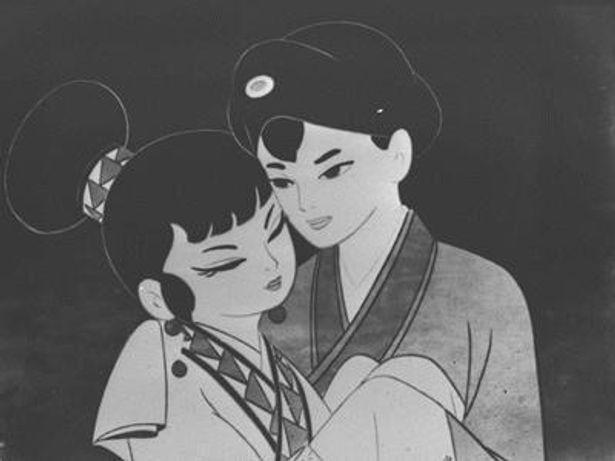 日本初の本格的カラー長編アニメ『白蛇伝』