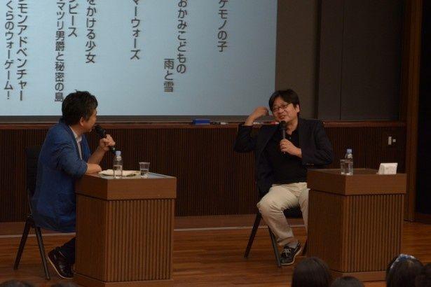 細田守監督と是枝裕和監督による特別講義が開講!