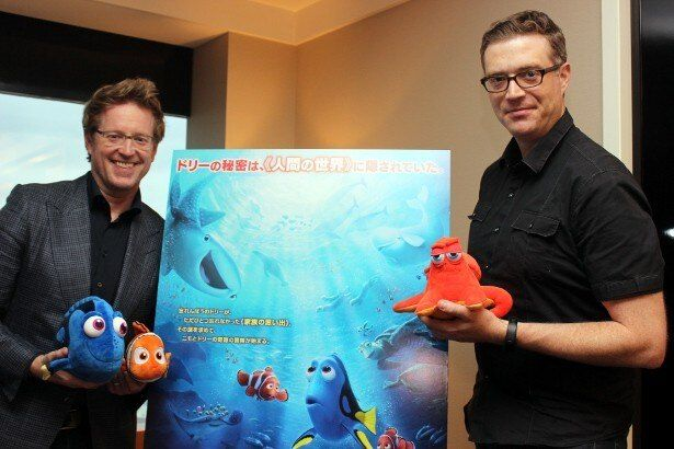 『ファインディング・ドリー』のアンドリュー・スタントン監督とアンガス・マクレーン共同監督