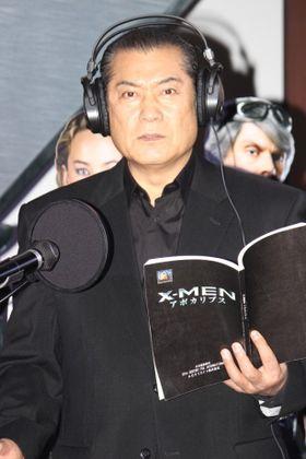 松平健が『X-MEN』最新作の神役で日本語吹替に初挑戦「世直しです」
