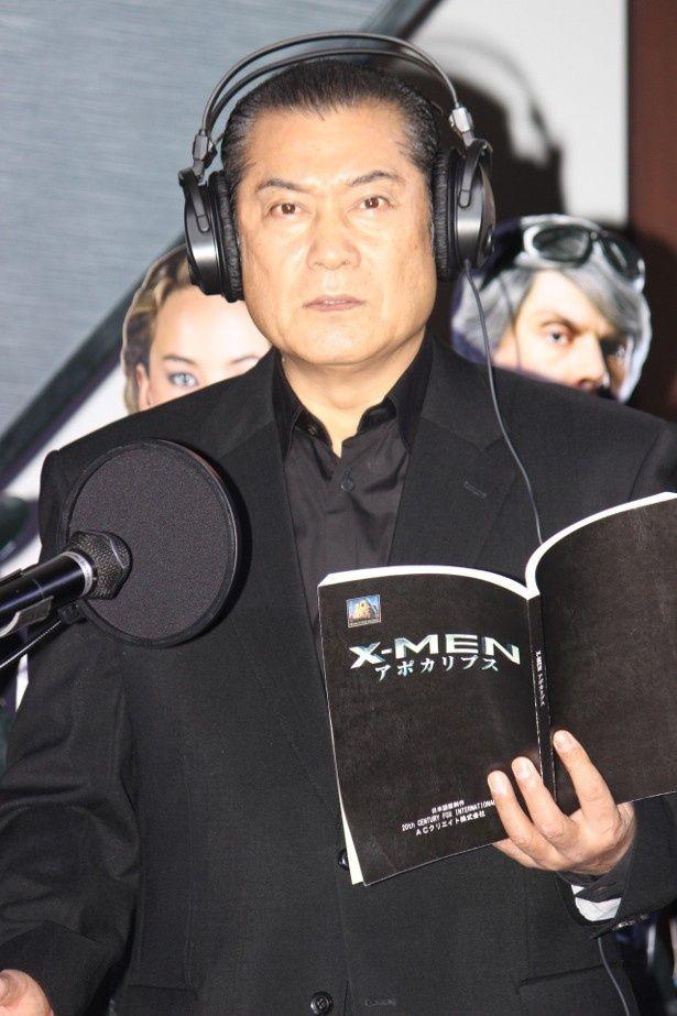 松平健が日本語吹替版のアフレコに初挑戦
