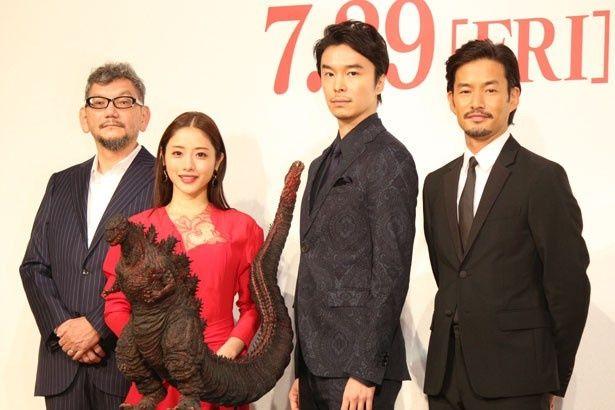 7月19日に『シン・ゴジラ』の完成報告会見が開催!