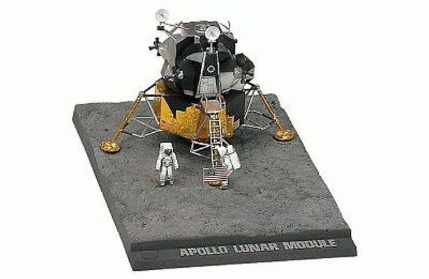 月面着陸を再現「月着陸船」