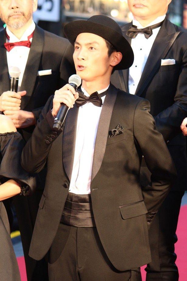「日本が世界に誇るゴジラに出演できて嬉しい」と素直な思いを吐露した高良健吾