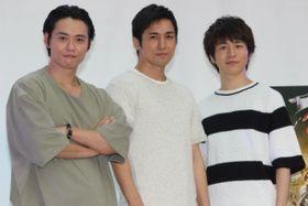 『真田十勇士』のイケメン3人が過酷なアクション撮影秘話を激白