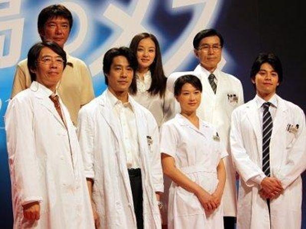 堤真一、夏川結衣らが映画『孤高のメス』をアピール