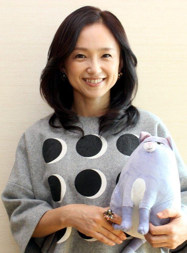 永作博美が『ペット』でアニメ声優初挑戦