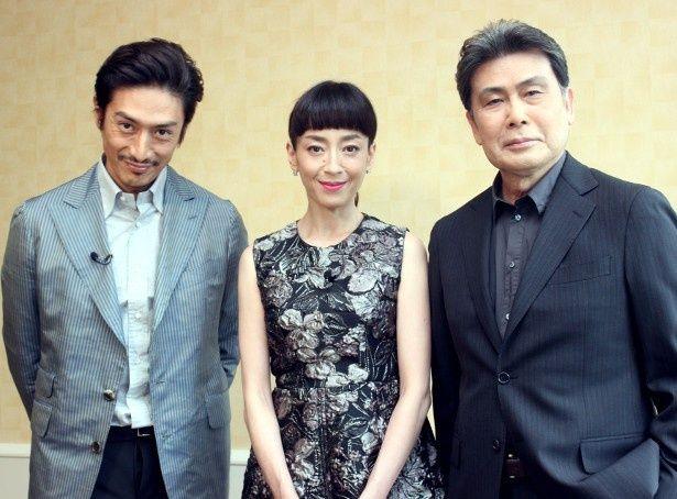 『ジャングル・ブック』の声優を務めた松本幸四郎、宮沢りえ、伊勢谷友介を直撃