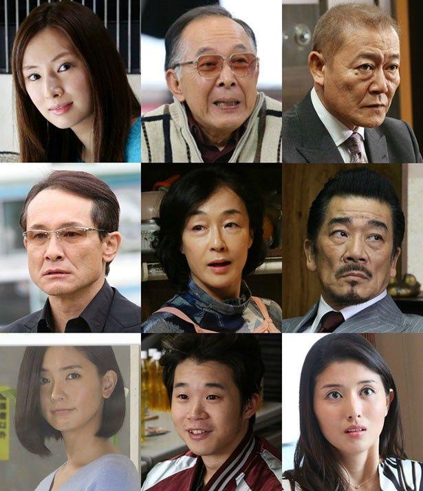 関西出身のキャストが集結!橋本は唯一の山形出身だが愛人役で抜擢