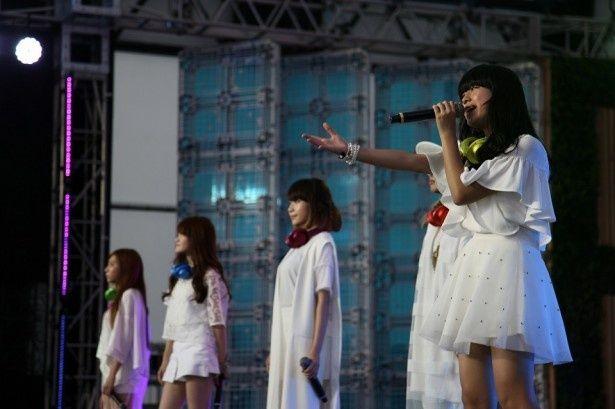 「めざましライブ」で日本武道館ワンマンライブを発表したLittle Glee Monster