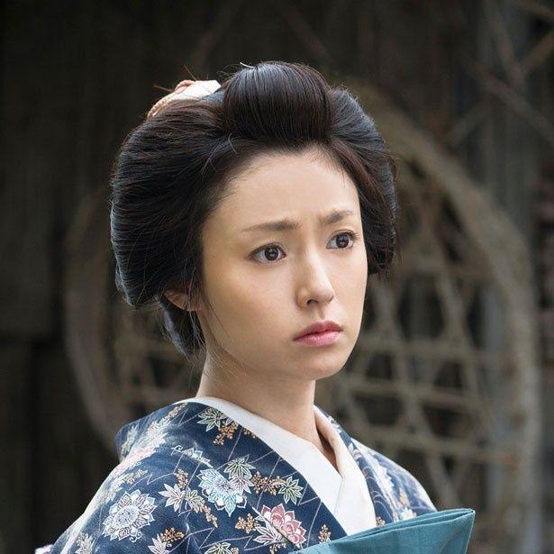 ヒロインのお咲を演じた深田恭子
