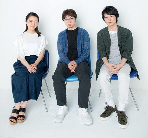 話題の劇場長編アニメ『君の名は。』、新海誠監督と主演ふたりとの対談が実現!