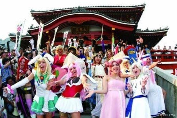 一般参加も可能な大須のパレードに、昨年は300人が参加!盛り上がりを見せた
