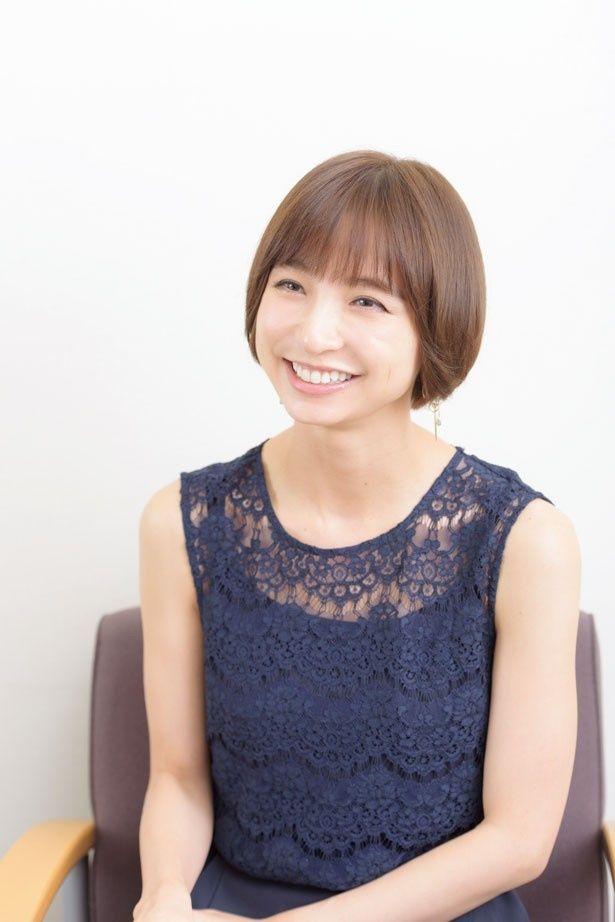 舞台がすごく好きだと語る篠田
