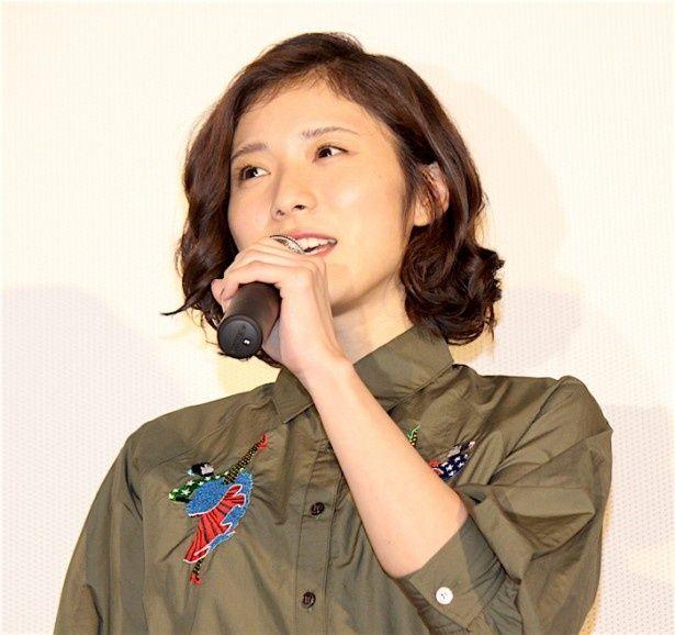将也役の松岡茉優