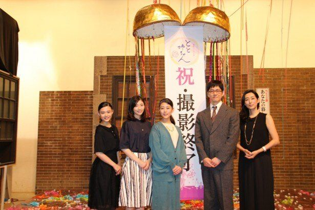 取材会に登壇した杉咲花、相楽樹、高畑充希、西島秀俊、木村多江(写真左から)