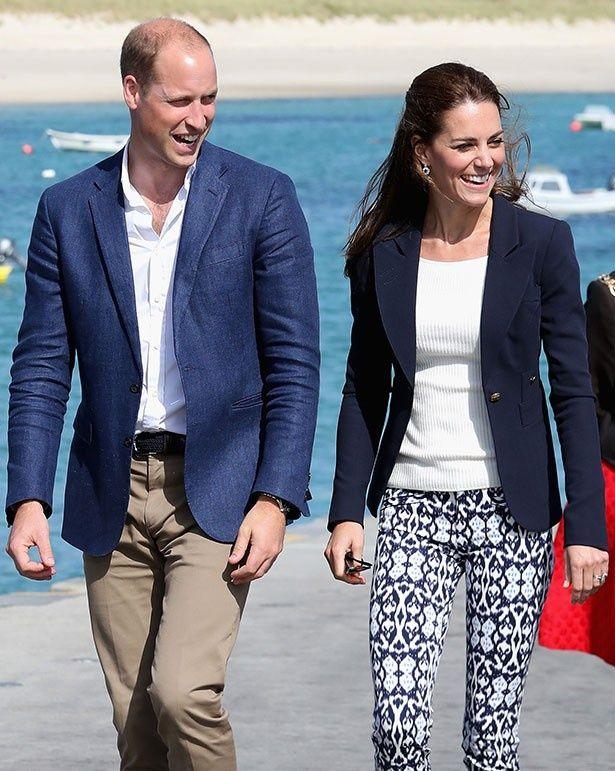 イギリスのエデン・プロジェクトを訪れたウィリアム王子夫妻