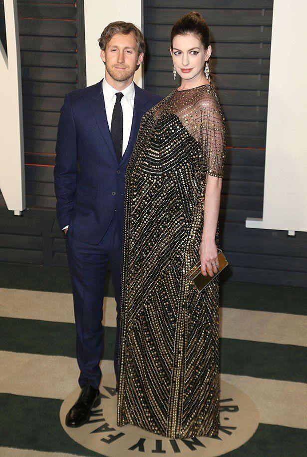 アンは今年3月俳優アダムとの間に第1子となる男児を出産した