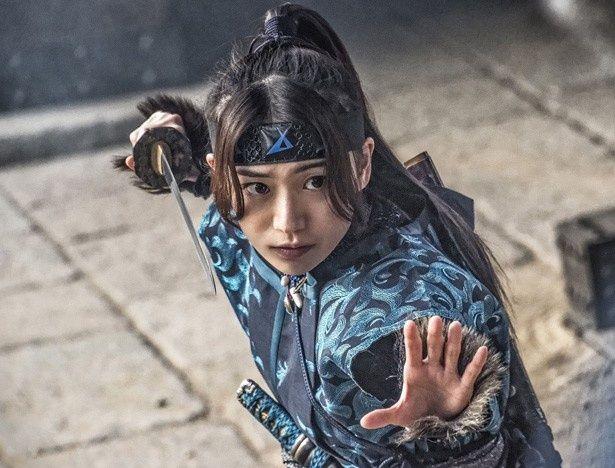 『真田十勇士』で、くのいち・火垂を演じる大島優子