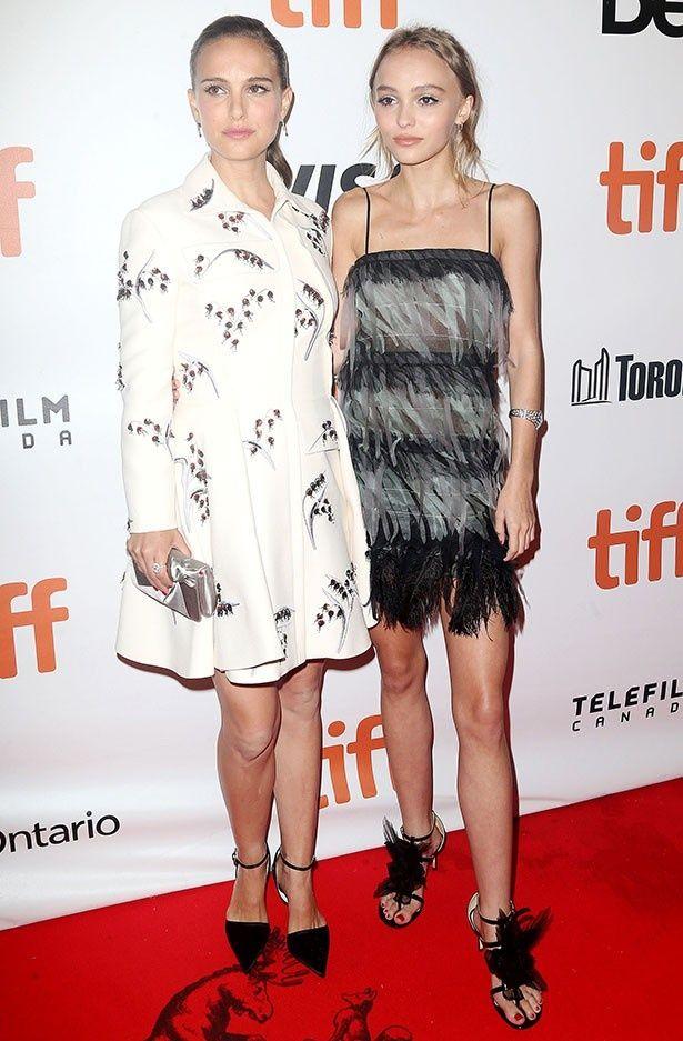 リリーとナタリーがトロント国際映画祭に登場