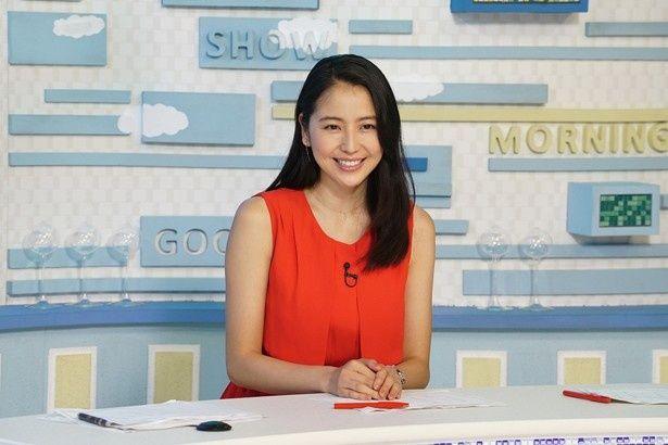 長澤まさみが『グッドモーニングショー』で女子アナ役に!