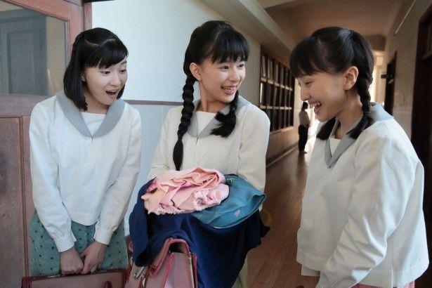 新朝ドラ「べっぴんさん」には芳根京子、百田夏菜子、土村芳が同級生役で登場