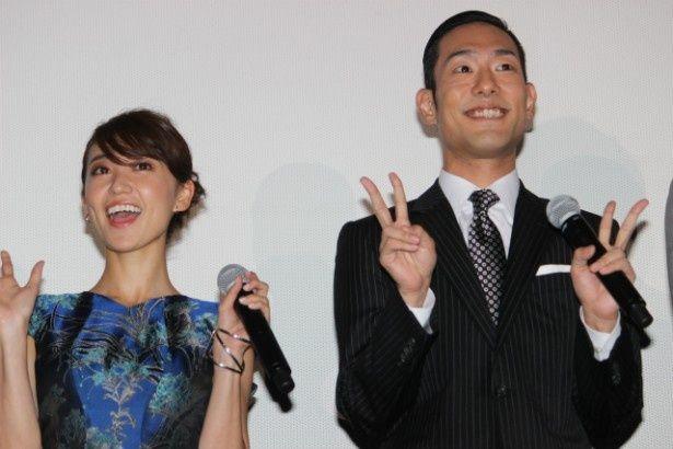 『真田十勇士』で共演した中村勘九郎と大島優子