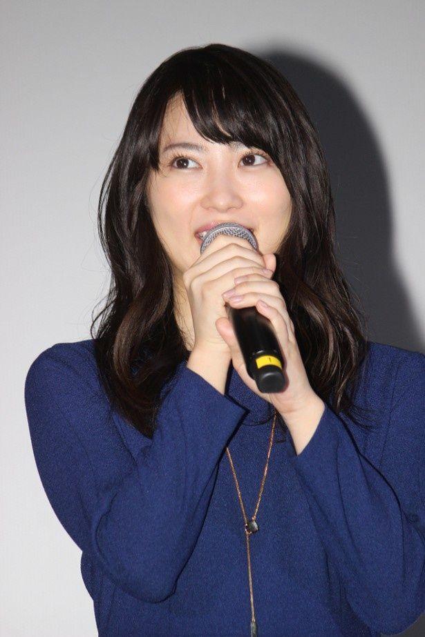 『泣き虫ピエロの結婚式』の主演を務めた志田未来