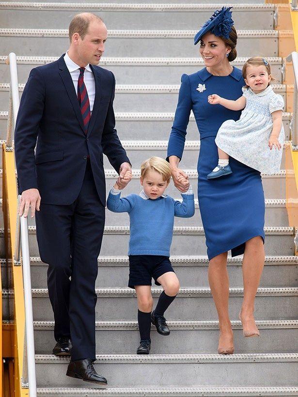 公式訪問でカナダに降り立ったウィリアム王子一家