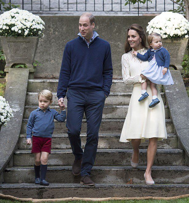 カナダでの公務としてキッズ・パーティに参加したジョージ王子とシャーロット王女