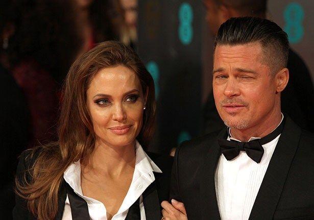 ブラッドとアンジェリーナは離婚によって親権争いが始まったという