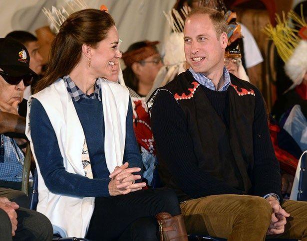 ウィリアム王子とキャサリン妃からはリラックスした良好な関係がうかがえるという