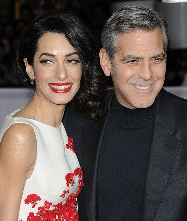 ジョージと才色兼備な妻アマル
