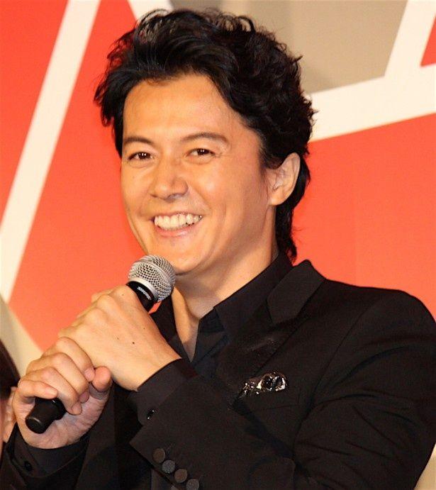 福山雅治、メアド交換に「すごくうれしい!」と大きな笑顔