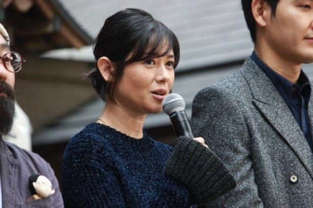 ヒロイン・稲葉エリー役の真木よう子