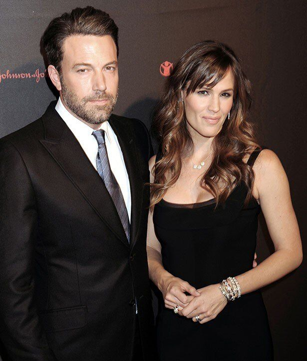 離婚の発表だけをしているジェニファーとベン