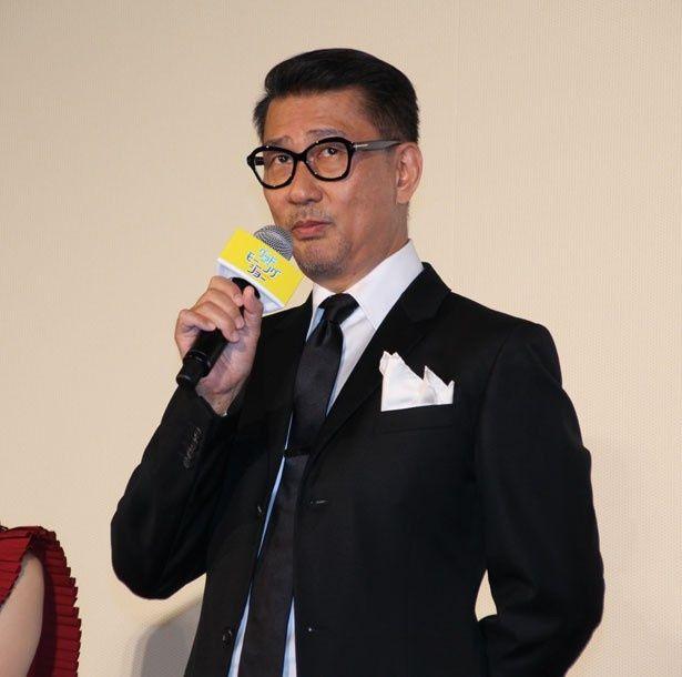 「グッドモーニングショー」のメインキャスター・澄田真吾を演じた中井貴一