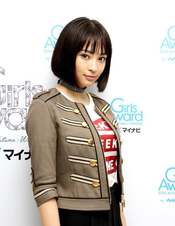 「GirlsAward 2016 AUTUMN / WINTER by マイナビ」でトップバッターを務めた広瀬すず