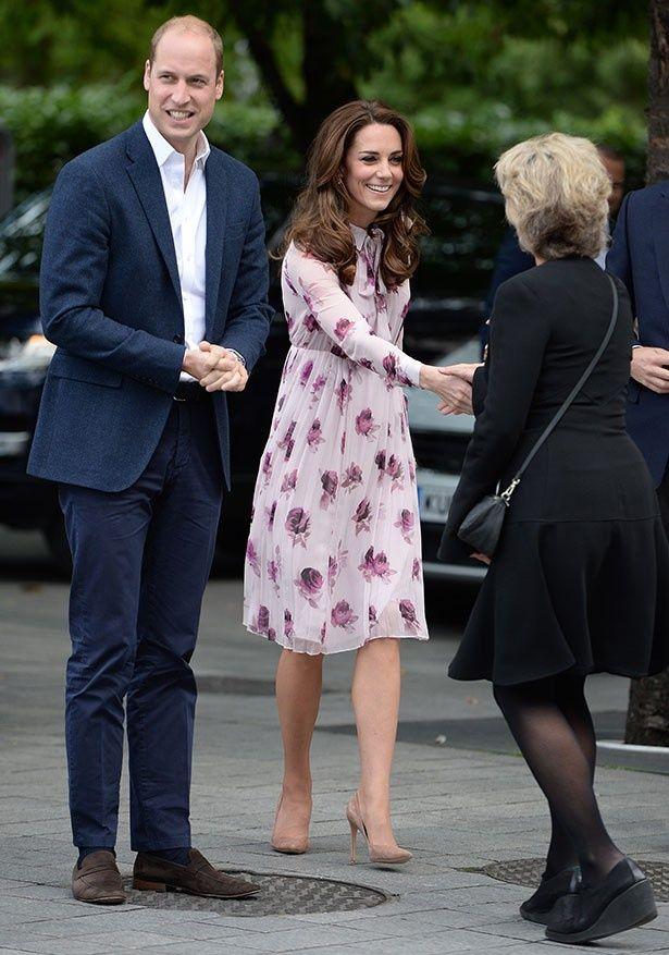 メンタルヘルスデーのイベントに参加したウィリアム王子とキャサリン妃
