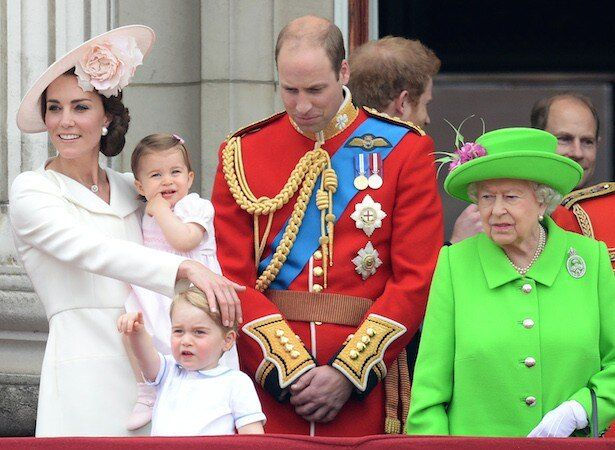 登場するたびエリザベス女王にそっくりと言われているシャーロット王女