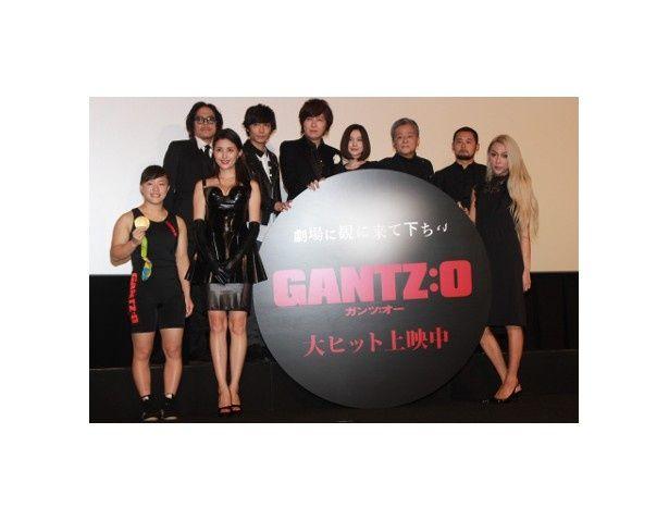 『GANTZ:O』の初日舞台挨拶が開催