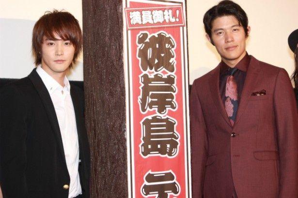 『彼岸島 デラックス』の主演を務めた白石隼也と鈴木亮平